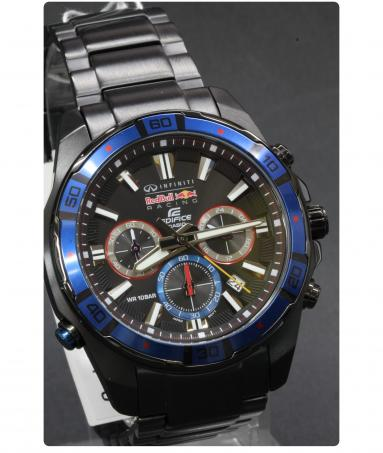 Casio Edifice Infiniti Red Bull Racing Limited Edition EFR 534RBK-1A ... c880bed1ea